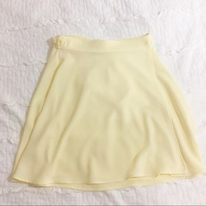 American Apparel crepe tie skirt